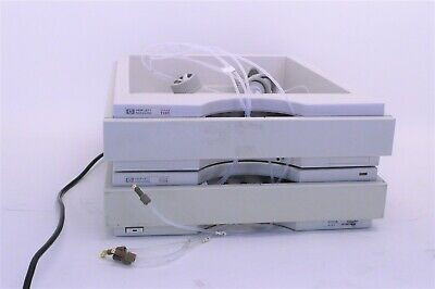 HP Agilent 1100 HPLC G1322A on-line vacuum Degasser & bottle tray kit w/Warranty