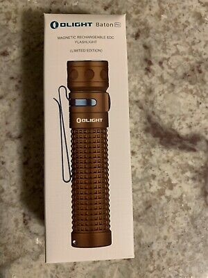 Olight Limited Edition Desert Tan Baton Pro - 2000 Lumens - New in Box