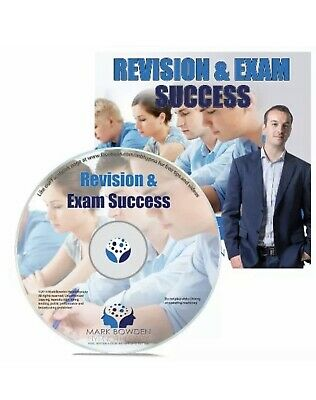 Mark Bowden Revision & Exam Success Self Hypnosis Cd New