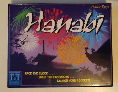 Hanabi - An Intriguing and Innovative Card Game! Build Fireworks Launch Rockets!