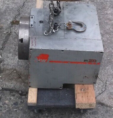 SMW RT200 Rotary Table 4th Axis Indexer