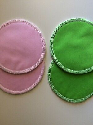 2 pairs of TwinkleLily 10cm brand new bamboo breast pads