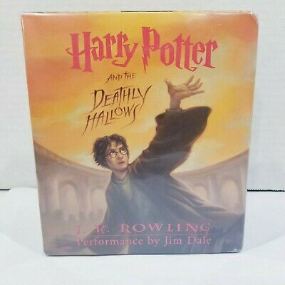 Harry Potter and Deathly Hallows Audiobook Unabridged 17 Cds JK Rowling Jim Dale