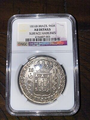 1816 Brazilian Shipwreck Huge Silver Coin Recovered Off Northern Brazilian Coast