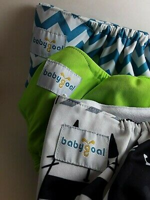BabyGoal Cloth Diaper Covers Bundle Set Of Three ☆Free Shipping!☆