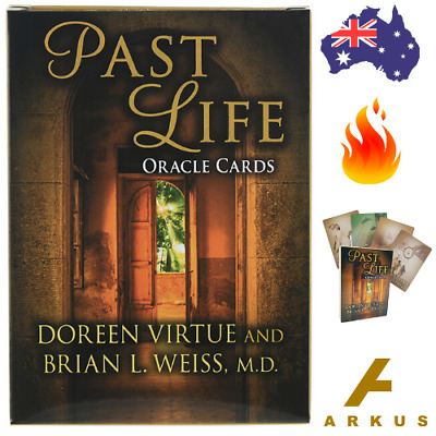 PAST LIFE Oracle Cards - 44 Card Deck by Doreen Virtue & Brian L. Weiss, MD NEW