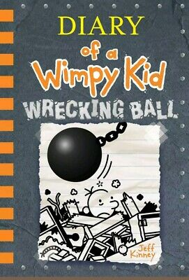 Wrecking Ball (Diary of a Wimpy Kid Book 14) by Jeff Kinney (2019, Hardcover)