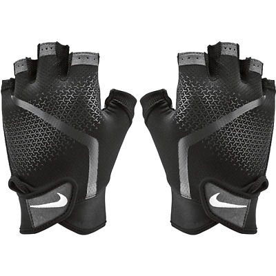 Nike Mens Extreme Fitness Sports Weight Lifting Training Gloves Black &Grey