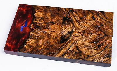 Stabilized Mango Burl Hybrid Exotic Wood Knife Scales  SCL8850