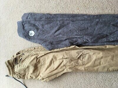 2 pairs boys trousers age 5-6 next & f&f