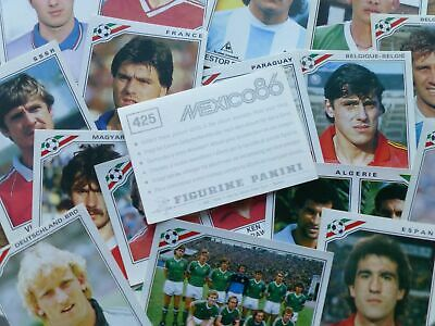 Panini Mexico 86 World Cup Stickers (221-427) - Complete Your Collection
