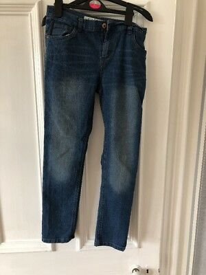 Blue Jeans Slim Age 12/13 Great Condition Hardly Worn