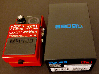 New Boss RC-1 Loop Station Guitar Pedal