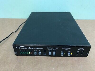 Telos One Cased w/SAA Auto Answer Digital Phone Hybrid Broadcast Audio Interface
