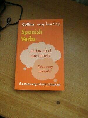 Easy Learning Spanish Verbs by Collins Dictionaries 9780008158439 | Used