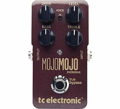 TC Electronic MojoMojo Overdrive Guitar Pedal  Opened Box Immaculate