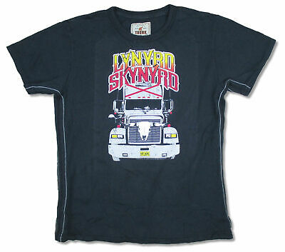 Lynyrd Skynyrd Trunk LTD Truck Kids Youth Black T Shirt New Official