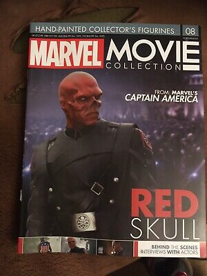 MARVEL MOVIE COLLECTION SPECIAL EDITION #8 Red SkulMAGAZINE ONLY! RARE Eaglemoss