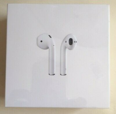 NEW UNOPENED BOX Apple AirPods Generation 2 with Charging Case MV7N2AM/A