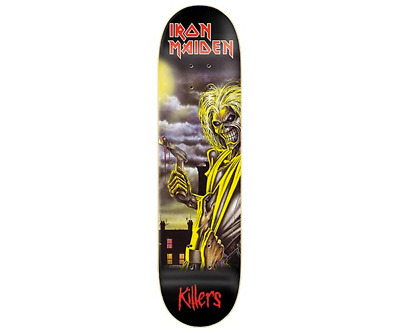ZERO x Iron Maiden Killers Album Cover 8.25 Limited Edition Skateboard Deck