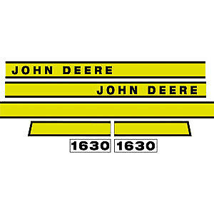 JD1630 Hood Decal Set fits John Deere Tractor 1630