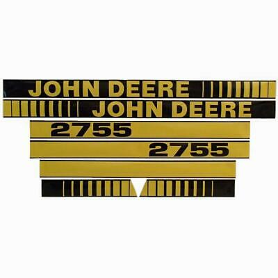 Hood Decal Set fits John Deere Tractor Model 2755