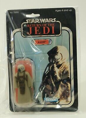 4-LOM - Star Wars Return of the Jedi - MOC ROTJ 1983 Vintage Kenner