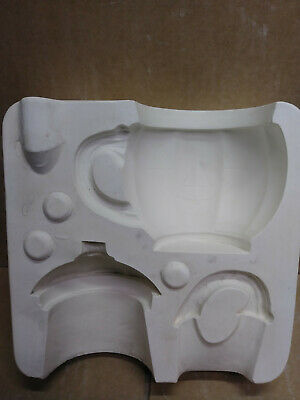 Ceramic Mold Pumpkin Cup Combo w/etched face Duncan 394 used