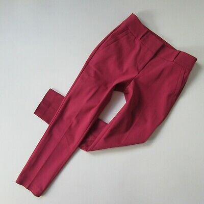 NWT Ann Taylor LOFT Marisa Essential Skinny in Rustic Pink Stretch Ankle Pants 0
