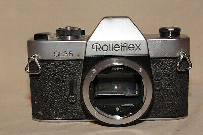 ROLLEIFLEX SL35 35mm CAMERA BODY FOR PARTS OR REPAIR 9191