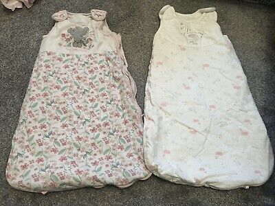 Two Sleeping Bags 6-12 Months 1.5 Tog