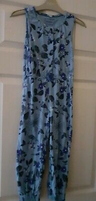 Girls Age 4-5 Years Old Jumpsuit Bluezoo Debenhams Worn Once Vgc Blue Playsuit