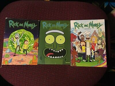 Rick and Morty: The Complete Seasons 1-3 (DVD)