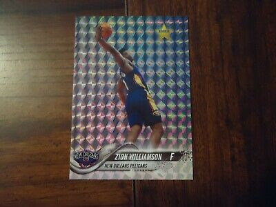 Zion Williamson 2019 #1 Draft Pick NOLA Star Rookie Ltd to 1000 N.O. Pelicans