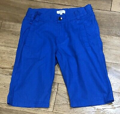 Boys Genuine Hugo Boss Chino Shorts In Blue Age 10 Years - Rrp £65 -