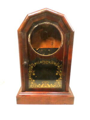 1875 Jerome Shelf Clock Case Complete--Just Needs Movement