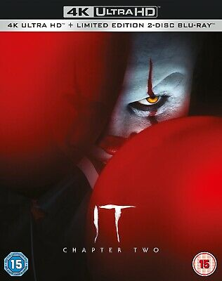 IT Chapter 2 4K Ultra HD & Blu-ray New With Free Delivery!