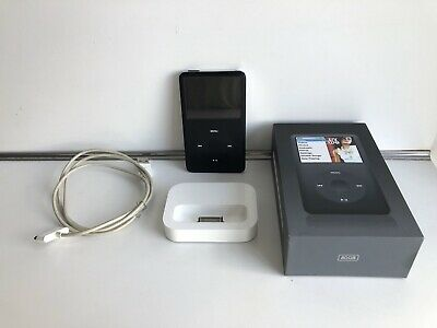 Apple iPod classic 6th Generation Black (80 GB)