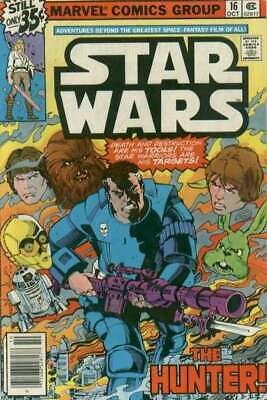 Star Wars (1977 series) #16 in Very Fine minus condition. Marvel comics [*sd]