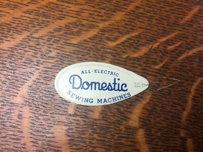 Vintage All Electric DOMESTIC SEWING MACHINES Needle Threader Tool Advertising
