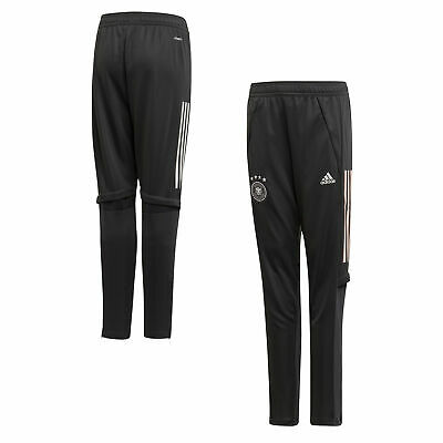 Germany Football Training Pants Bottoms Dk Grey Kids