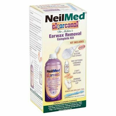 NeilMed Clearcanal Earwax Removal Complete Kit