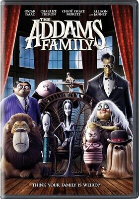 The Addams Family (DVD,2019)