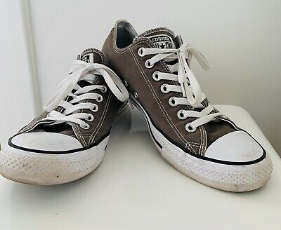 Converse All Star Chuck 70 Classic Low Top  Green Brown Size UK 9.5 Trainers