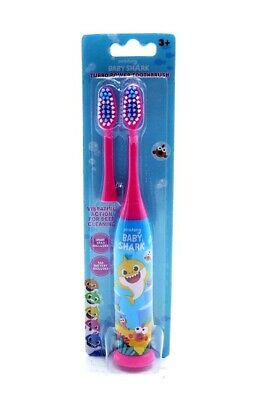 Baby Shark Toothbrush Battery Electric with a brush head