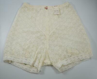 Vtg NWT JC Penney ADONNA GIRDLE Panty Brief Garters Floral Lacey Pin Up SZ - LG
