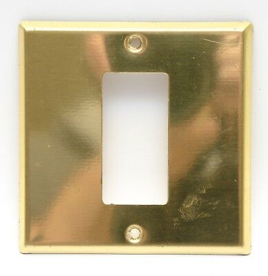 Vintage Gold Metal Electric Wall Outlet Covers Bathroom