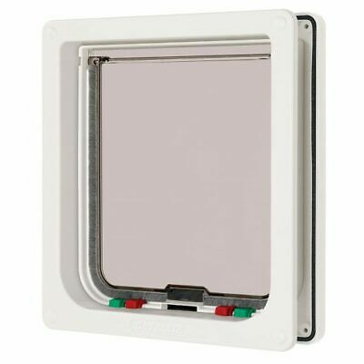 Cat Mate Large 4 way Cat Flap, White 221W - NQP