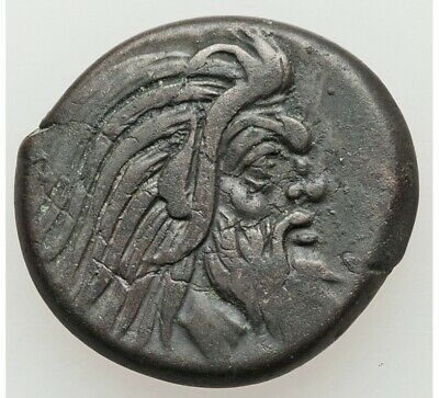 Ancient Greece 4 cent.BC Bosporus Panticapaeum Pan / Griffin/sturgeon