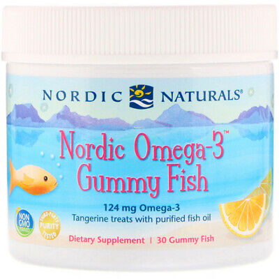 New Nordic™ Omega-3 Jellies - 36 Jellie Fish by Nordic Naturals